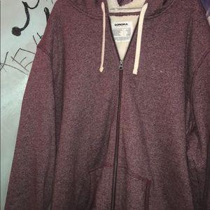 Sonoma zip up jacket